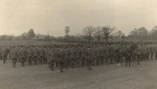 Gloucestershire Regiment at camp