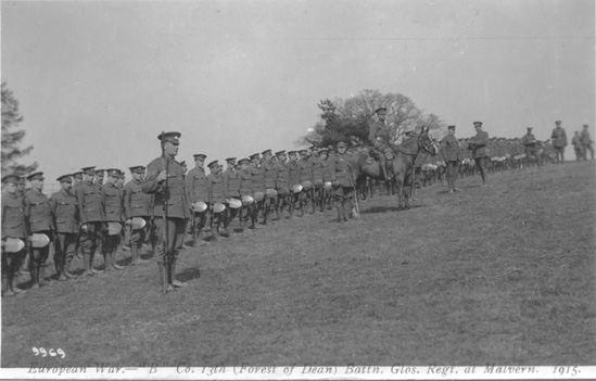 B Company 13th Gloucesters
