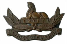 The 13th Gloucesters Regimental Badge