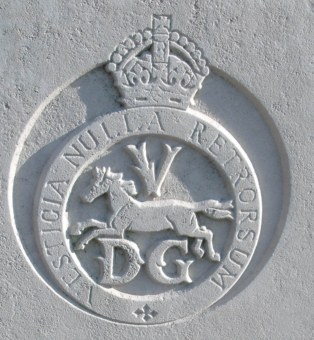 Cap badge of the 5th Dragoon Guards