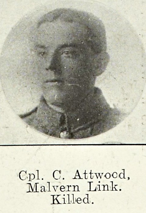 Cpl Christopher Attwood of Malvern Link