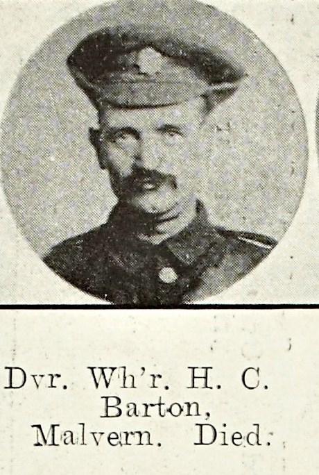Henry Charles Barton of Malvern Wells