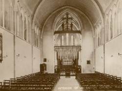 Click to enlargeInterior of the Church of the Ascension, circa 1930