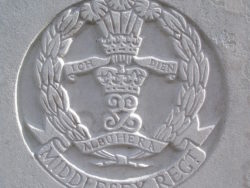 Capbadge of the Middlesex Regiment