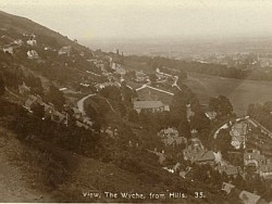 The Wyche from the Wyche Cutting