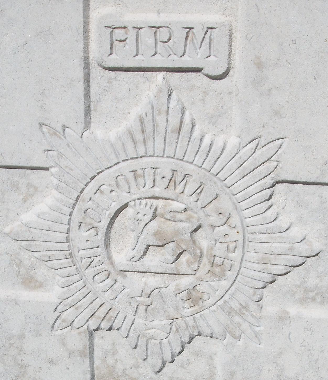 Cap badge of the Worcestershire Regiment