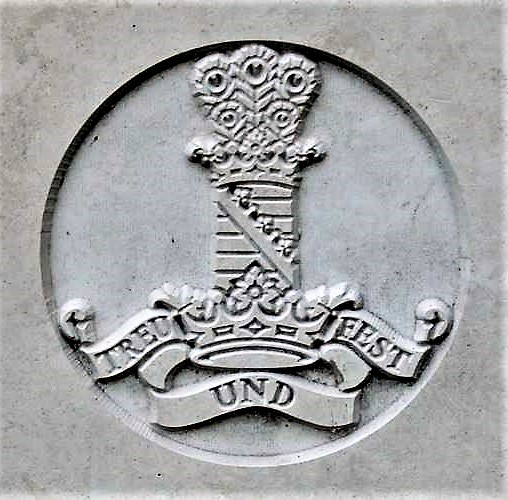 Capbadge of the 11th Hussars