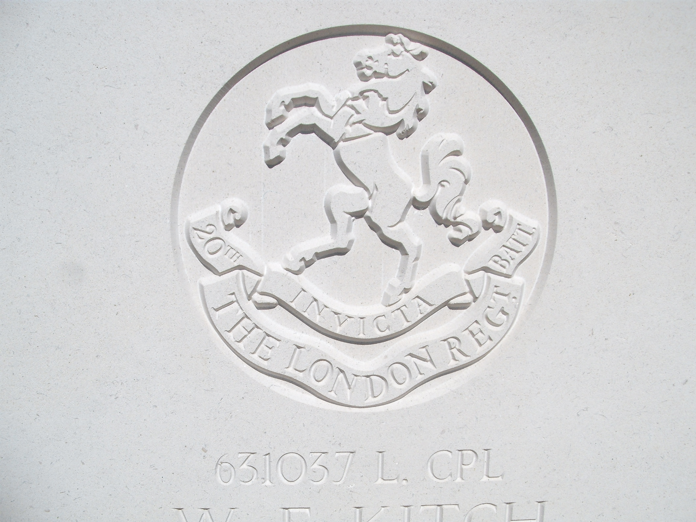 Capbadge of the 20th London Regiment