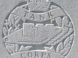 Capbadge of the Tank Corps