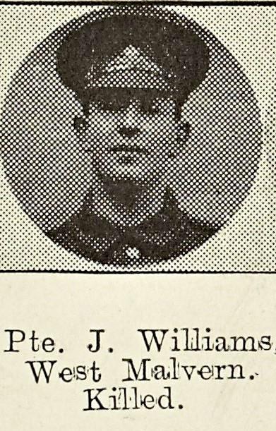 James Williams of West Malvern