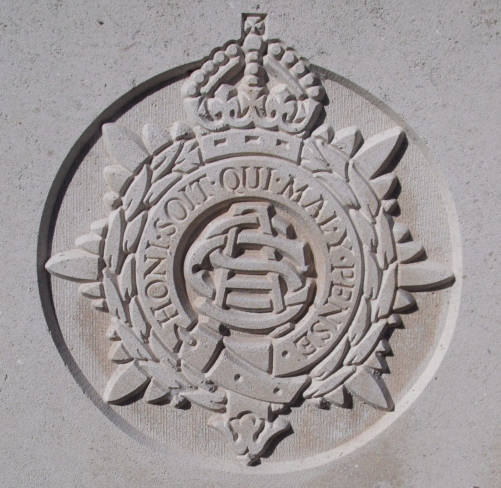 Capbadge of the Army Service Corps