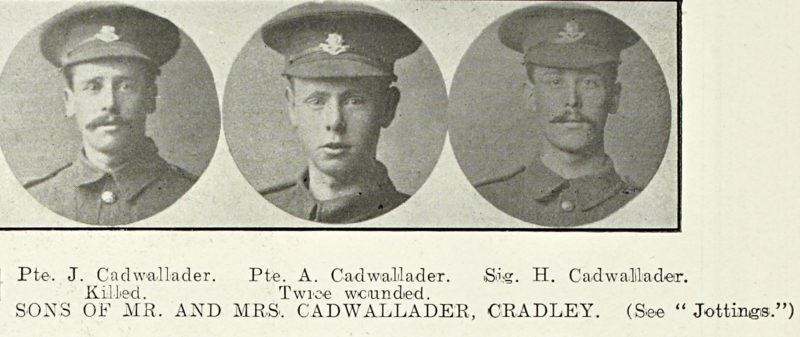 The Cadwallader brothers of Cradley
