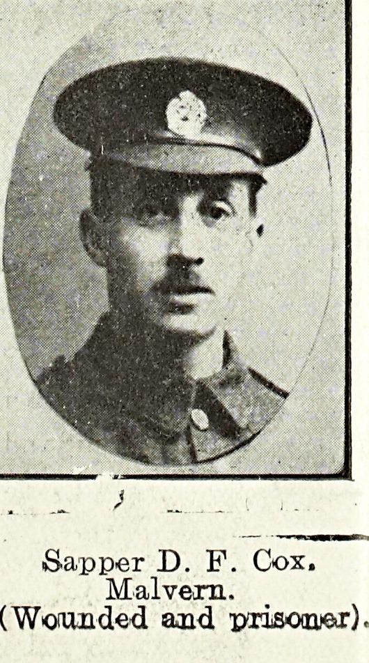 Dudley Farr Cox of Malvern Link