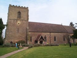 St James Church, Cradley