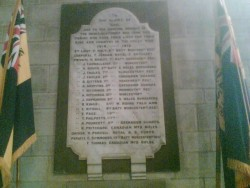 Cradley Great War Memorial