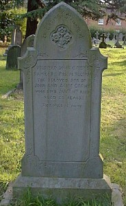 Wilfred Crews Headstone