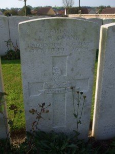 Humphrey Swann's headstone