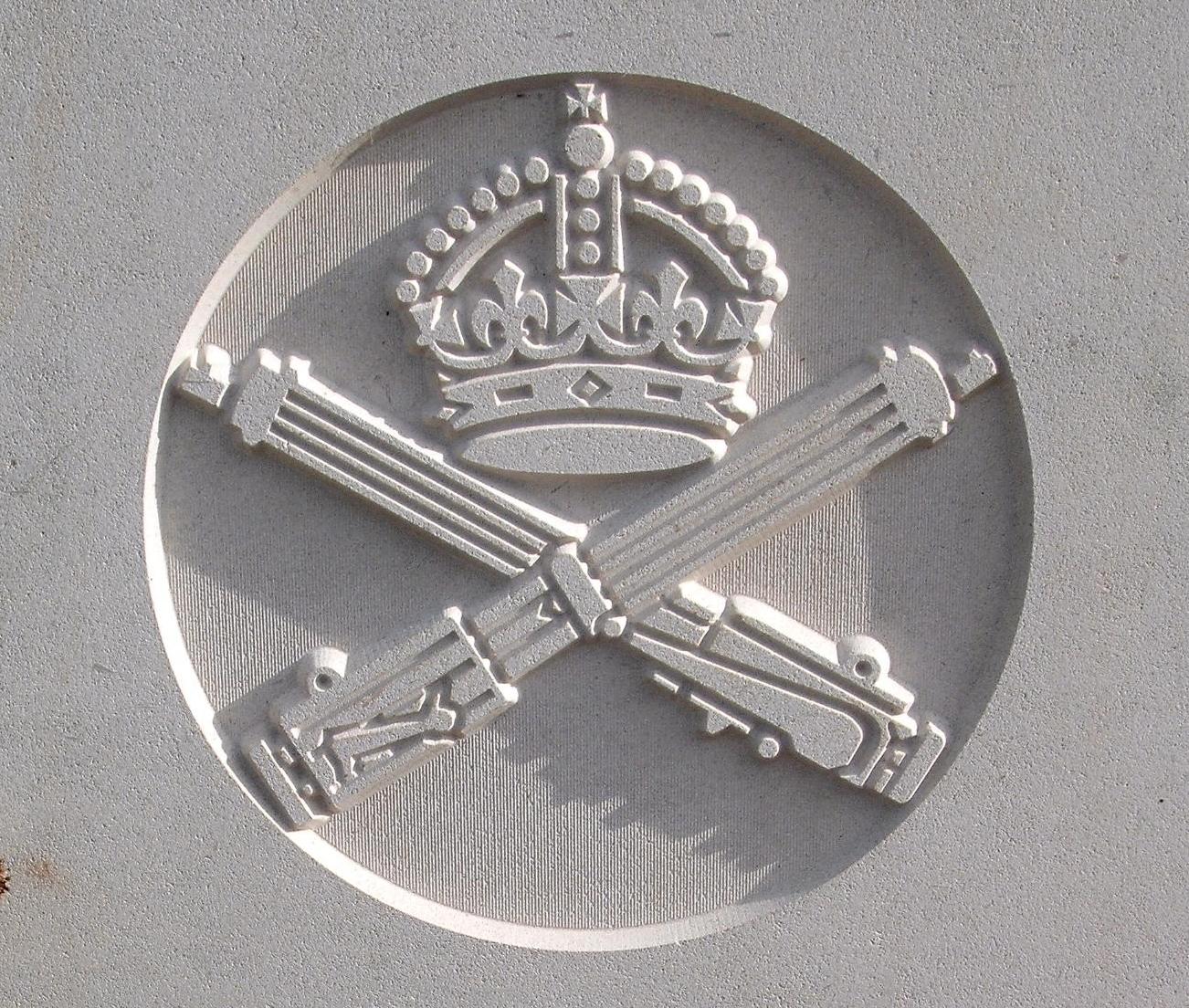 Capbadge of the Machine Gun Corps