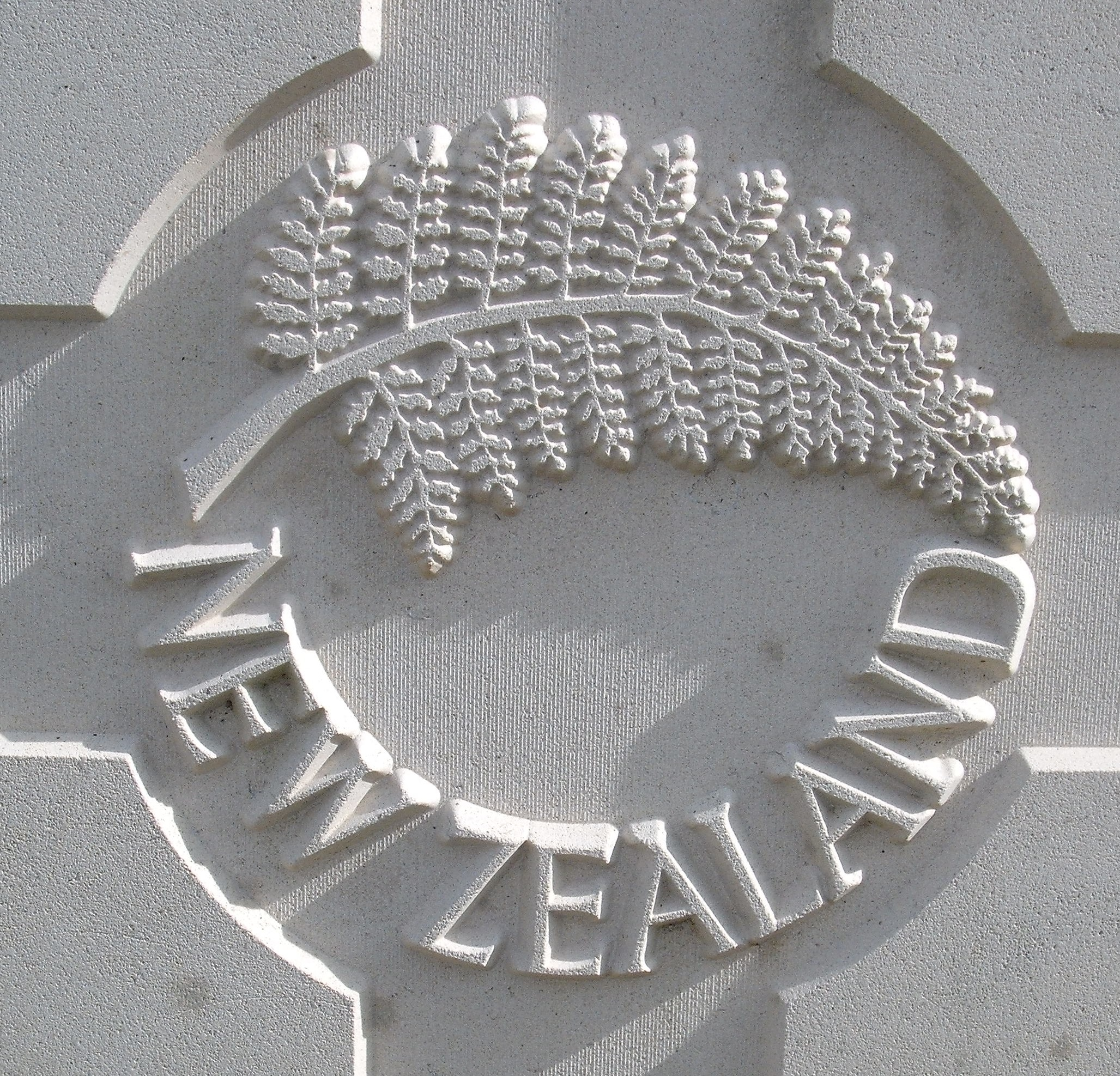 Capbadge of the New Zealand Expeditionary Force