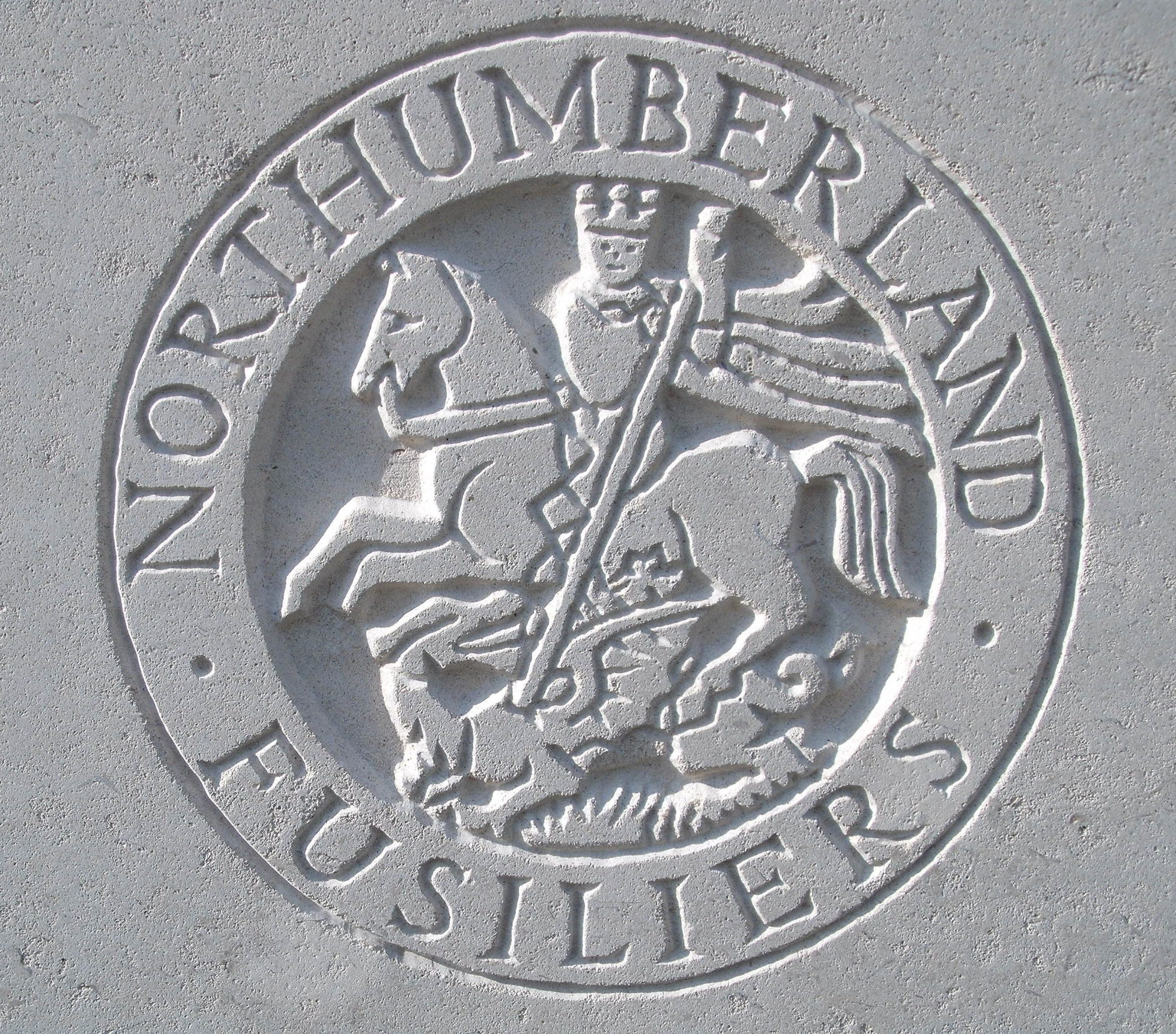 Capbadge of the Northumberland Fusiliers