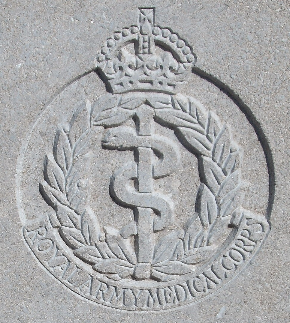 Capbadge of the Royal Army Medical Corps