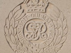 Capbadge of the Royal Engineers