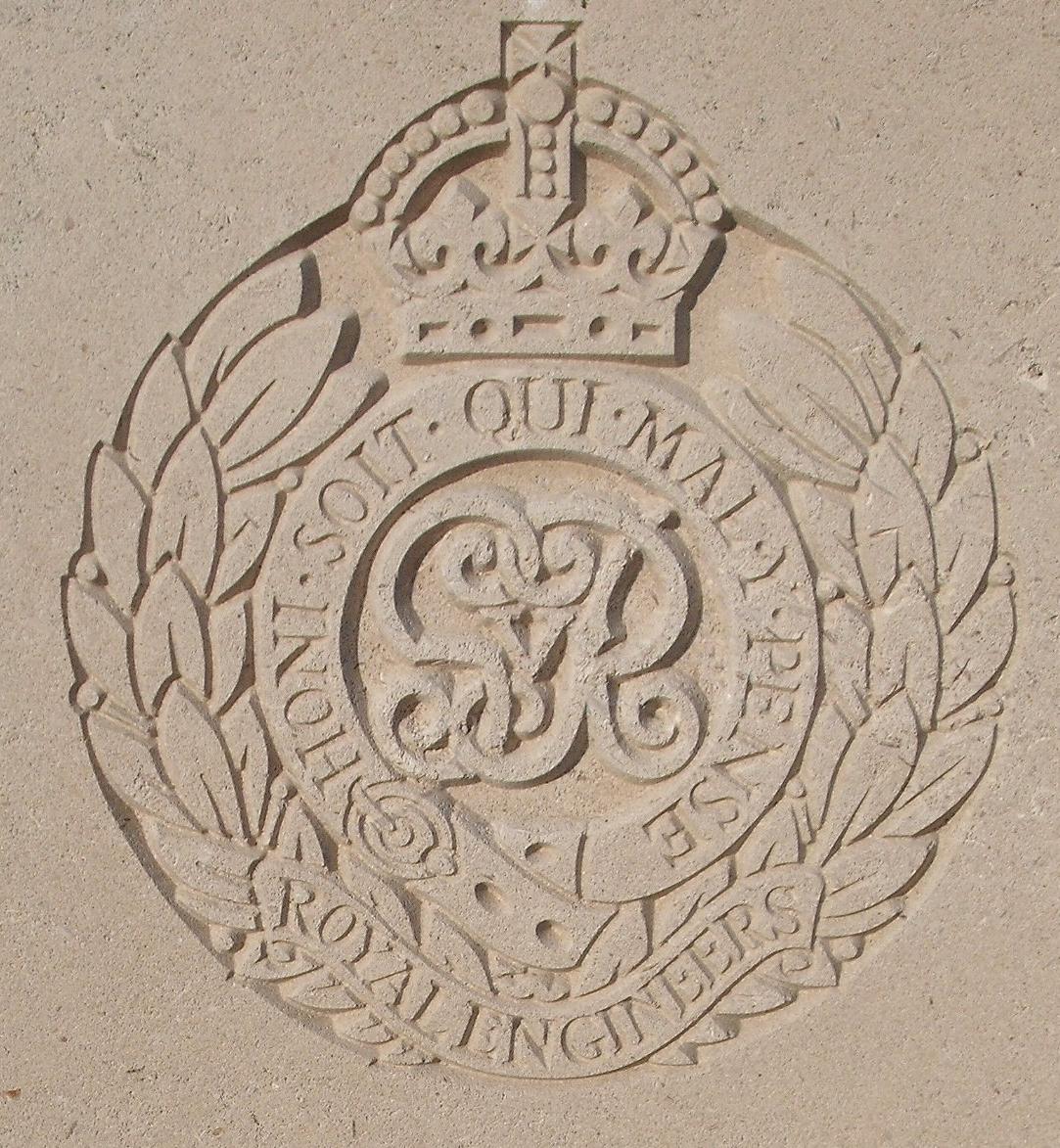 Capbadge of the Royal Engineers