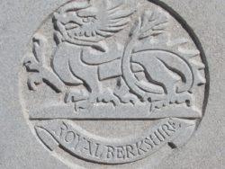 Capbadge of the Royal Berkshire Regiment