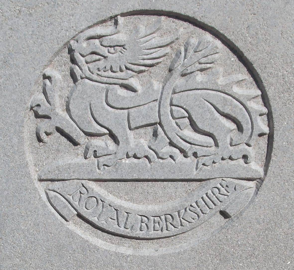 Capbadge of the Royal Berkshire Regiment