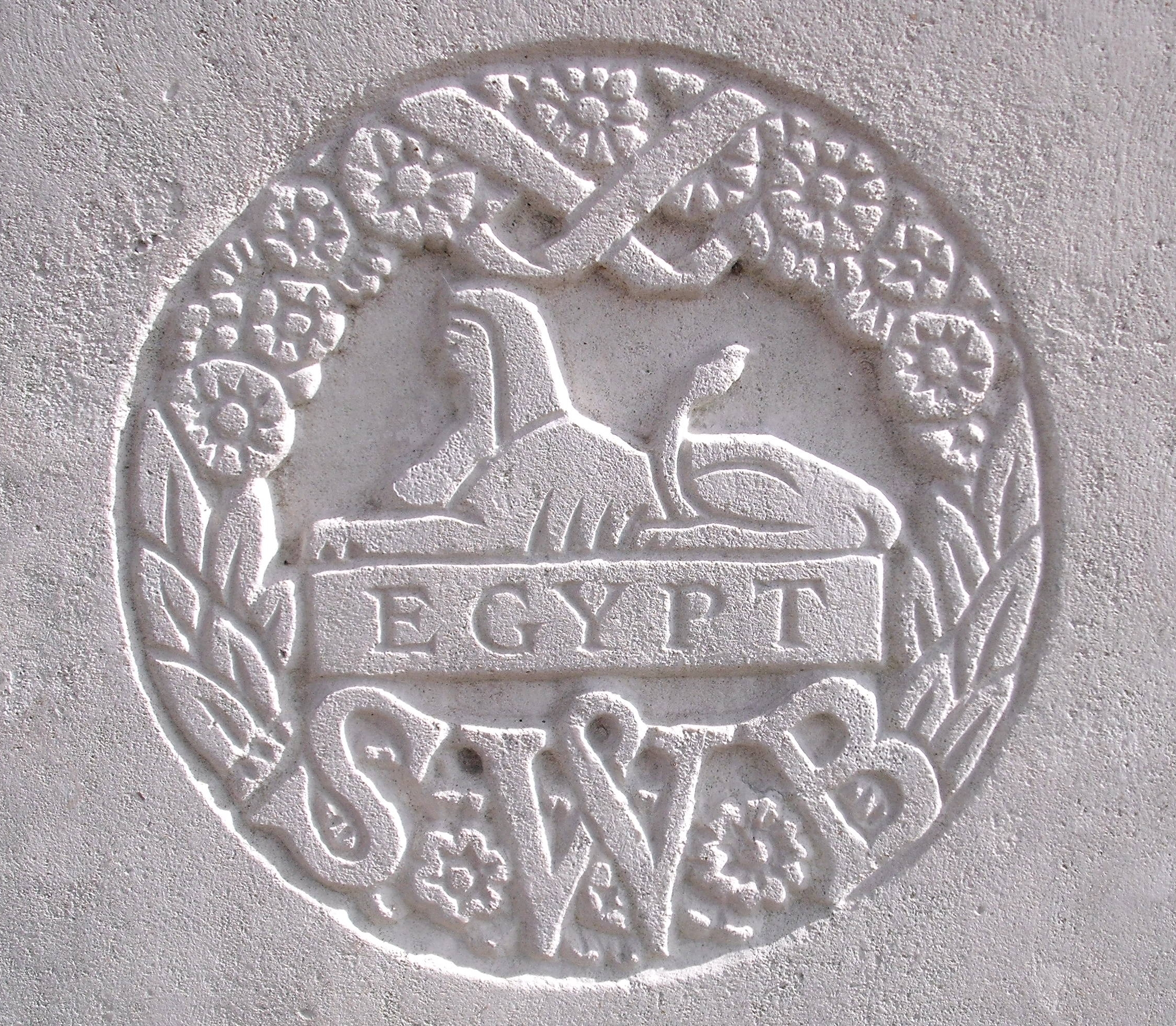 Capbadge of the South Wales Borderers