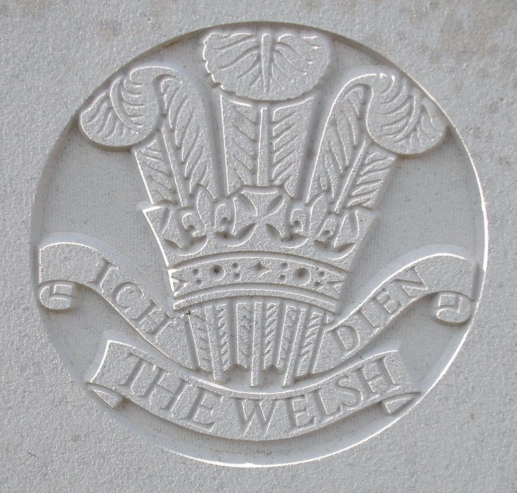 Capbadge of the Welsh Regiment