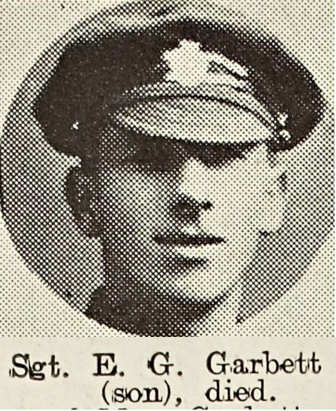 Ernest Garbett late of the Wyche.