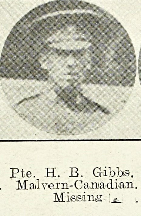 Horace Boddington Gibbs, late of the Wyche