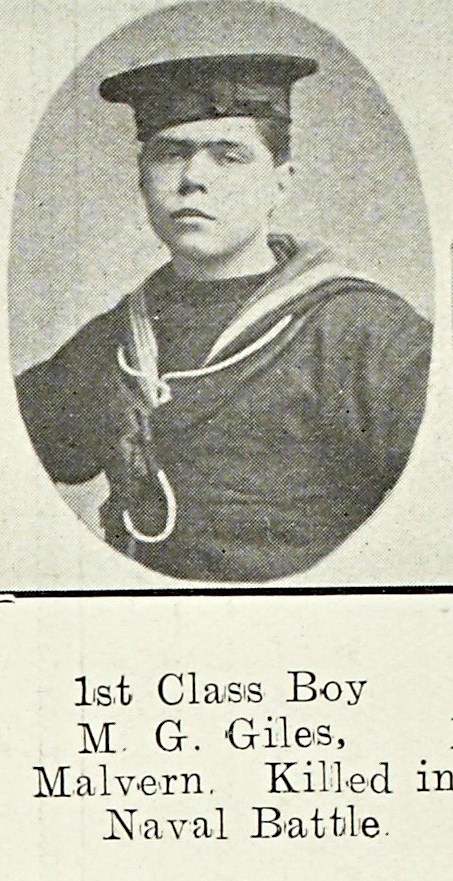 Mornington George Giles of Great Malvern