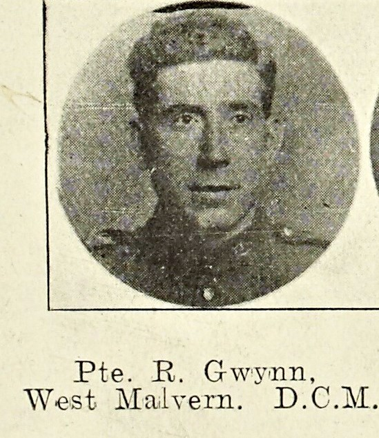 Ralph Gwynn DCM from West Malvern