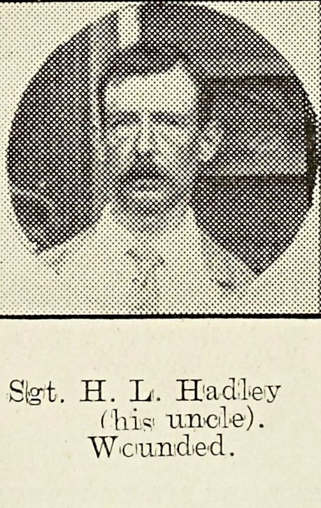 Harry Hadley of Poolbrook
