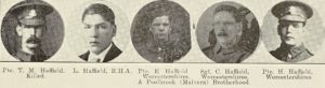 The Haffield brothers of Poolbrook