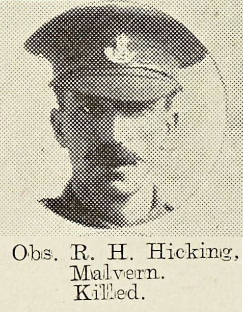 Reginald Hickling of North Malvern