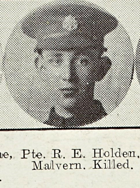 Robert Holden of Malvern Common