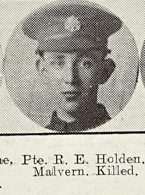 Robert Holden of Malvern Common