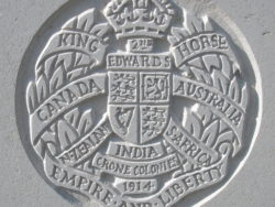 Capbadge of the 2nd King Edward's Horse