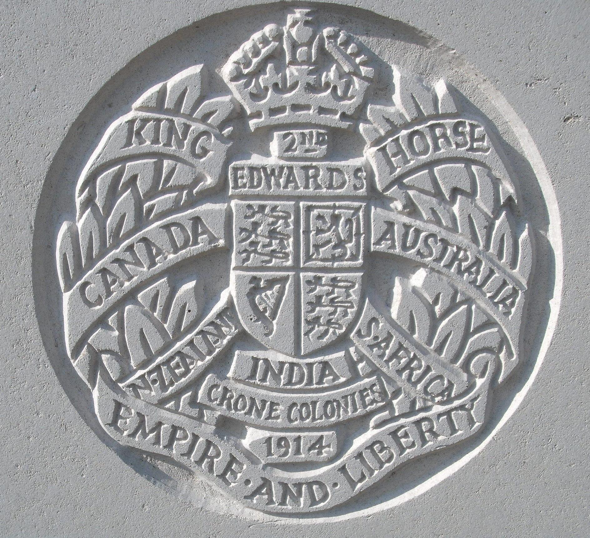 Capbadge of the 2nd King Edward's Horse