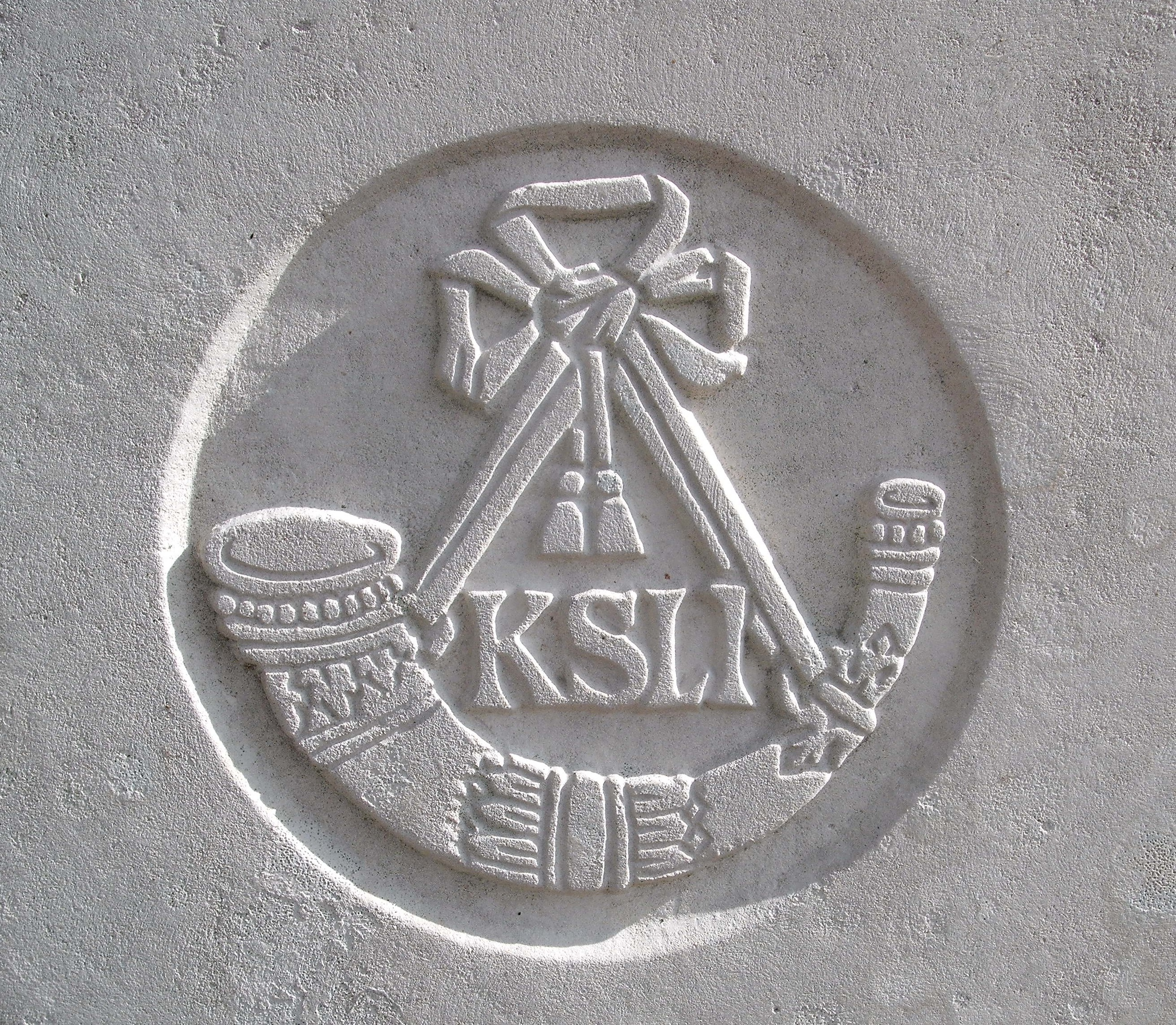 Capbadge of the Kings Shropshire Light Infantry