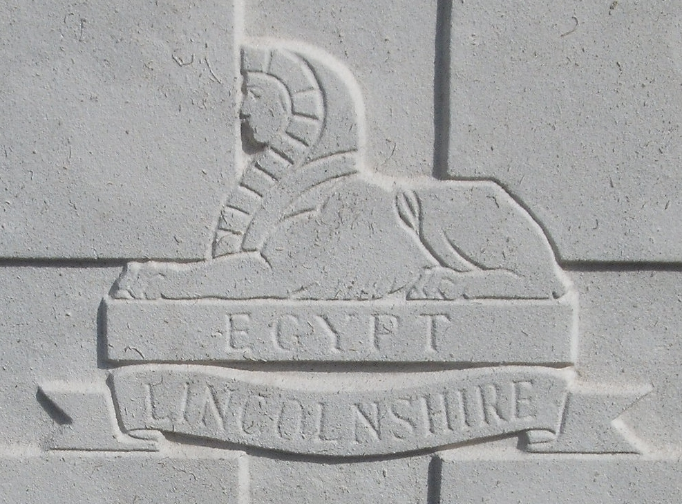 Capbadge of the Lincolnshire Regiment
