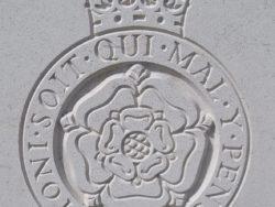 Capbadge of the 2nd London Regiment (Royal Fusilers)