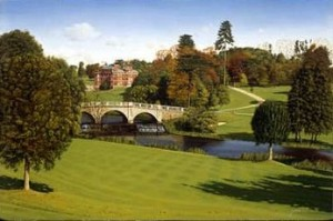 Brockett Hall is now a premier golf course