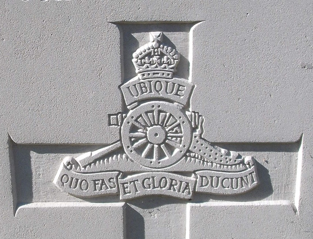 Capbadge of the Royal Artillery
