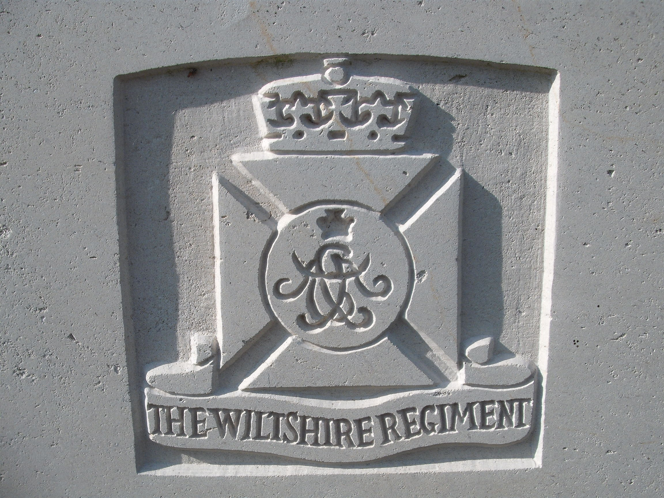 Capbadge of the Wiltshire Regiment