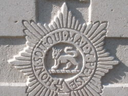 Capbadge of the Worcestershire Regiment