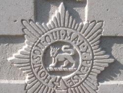 Capbadge of the Worcestershire Regiment